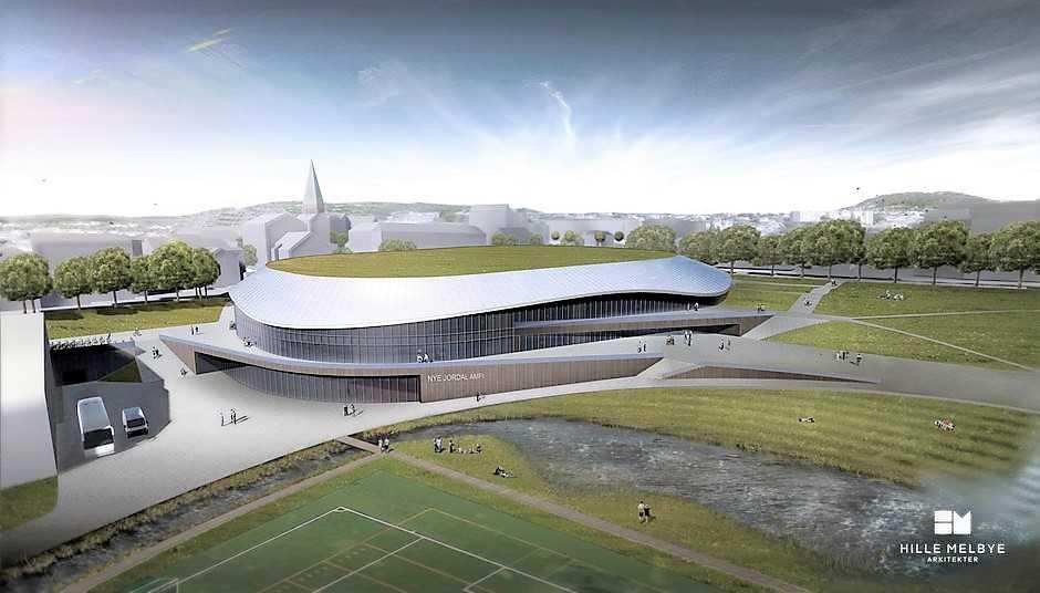 Jordal Amfi: Elektrikere til stadion