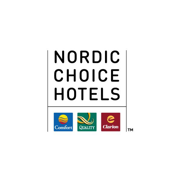"""Nordic Choice AS: """"Vårt samarbeid med Toptemp har gitt oss sikkerhet i våre mest aktive perioder. Toptemp har et dedikert team som er supre til oppfølging og personell som takler høyt arbeidstempo""""."""